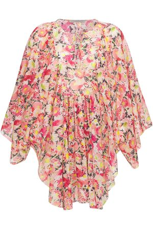Stella McCartney Floral Print Cotton Voile Mini Dress