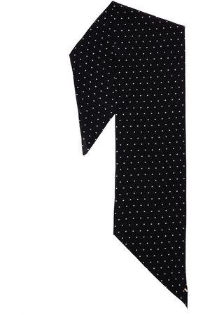 Saint Laurent Men Scarves - Dots Silk Scarf
