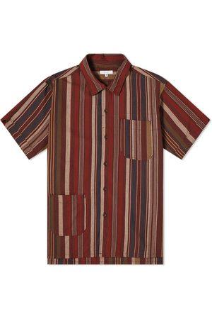 ENGINEERED GARMENTS Men Shirts - Patchwork Stripe Camp Vacation Shirt