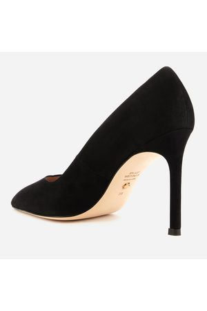 Stuart Weitzman Women Pumps - Women's Anny Suede Court Shoes