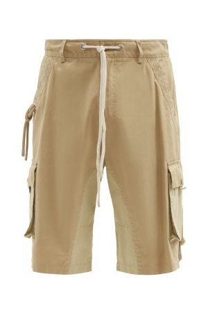 JW ANDERSON Patch-pocket Cotton-twill Shorts - Mens