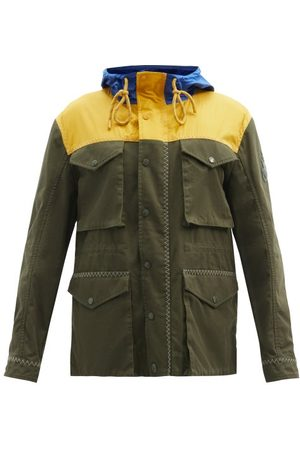 1 Moncler JW Anderson Leyton Colour-block Canvas Parka Jacket - Mens