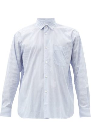 Comme des Garçons Men Casual - Forever Striped Cotton Shirt - Mens