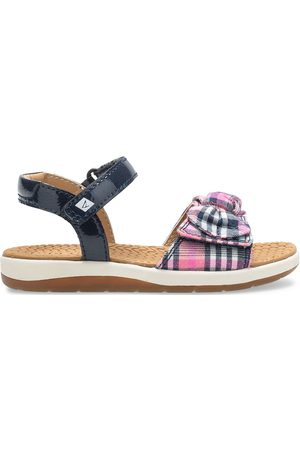 Sperry Top-Sider Sperry Kids Galley Sandal Navy/Plaid, Size 5M