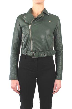 terzo piano Women Leather Jackets - Leather jackets Women pelle