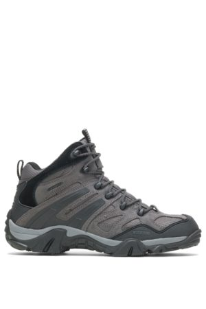 Wolverine Men Boots - Men's Wilderness Boot Charcoal, Size 7.5 Extra Wide Width