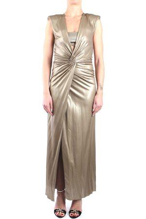 SIMONA CORSELLINI Dress Women Nude viscosa