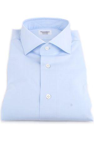 MAZZARELLI Classic Men Turquoise Cotone
