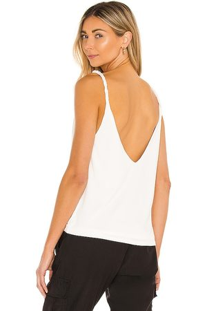 LBLC The Label Yumi Tank in Ivory.