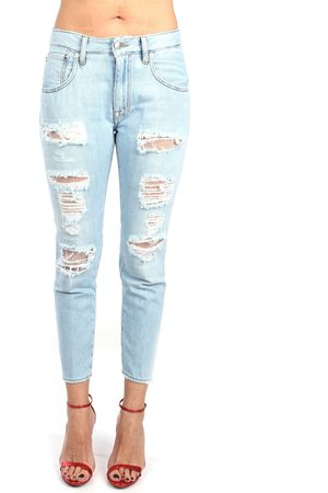 PEOPLE Jeans Women Denim cotone
