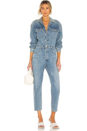 Citizens of Humanity Liu Jumpsuit in Blue.