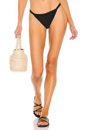 Mikoh Carros Bikini Bottom in Black.