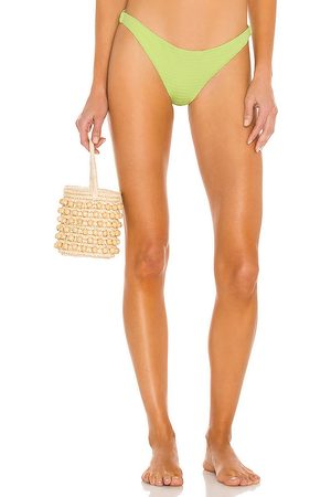 Bond Eye Women Bikinis - Sleeker Brief Bikini Bottom in Green.