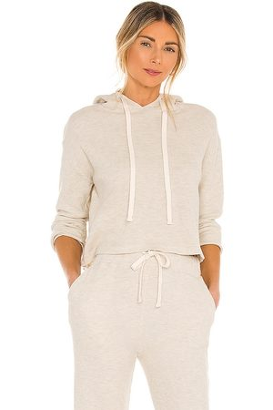 MONROW Brushed Thermal Pull Over in Nude.