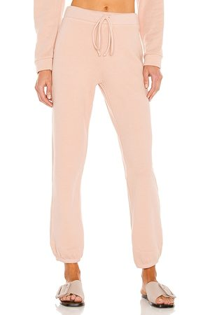 Lanston Elastic Cuff Sweat in Blush.