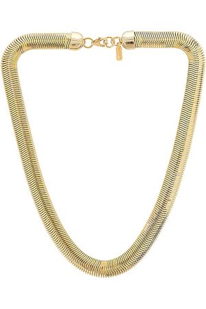 Electric Picks Jewelry Cobra Necklace in Metallic .