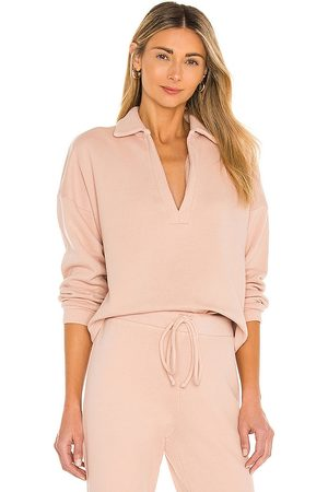 Lanston Polo Pullover in Blush.