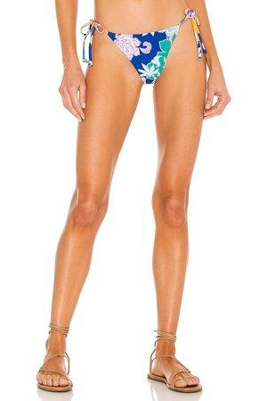 Mikoh Pacifica Bikini Bottom in Blue.