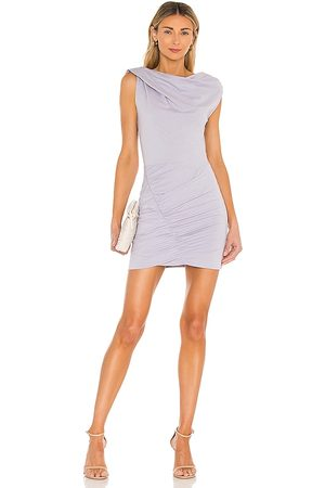 IRO Tucks Dress in Lavender.