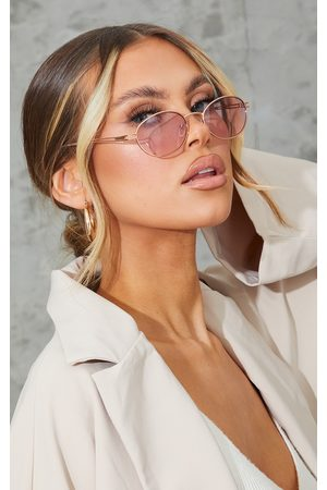 PRETTYLITTLETHING Jeepers Peepers Roundframe Sunglasses