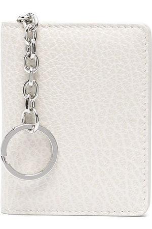 Maison Margiela Women Wallets - Four-stitch keyring wallet - Neutrals