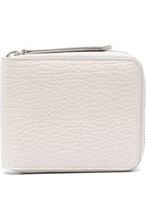 Maison Margiela Four-stitch zip-around wallet
