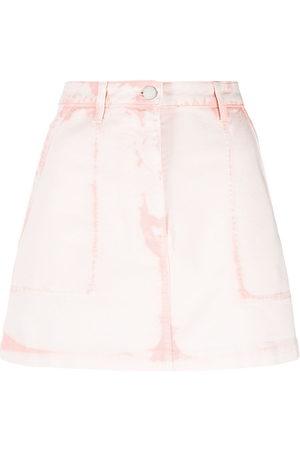 Alberta Ferretti Women Mini Skirts - Denim mini skirt