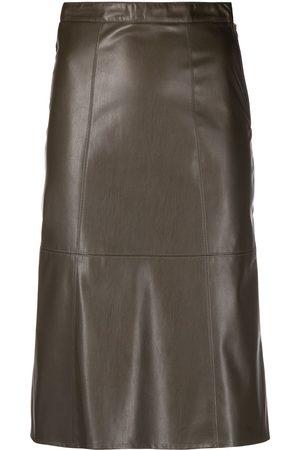 Patrizia Pepe Women Pencil Skirts - Faux leather pencil skirt