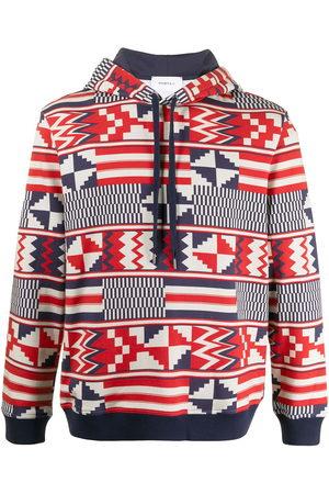 Ports V Hoodies - Geometric print hoodie