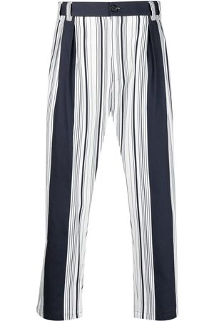 Dolce & Gabbana Striped straight-leg trousers