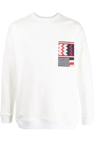 Ports V Geometric detail sweatshirt