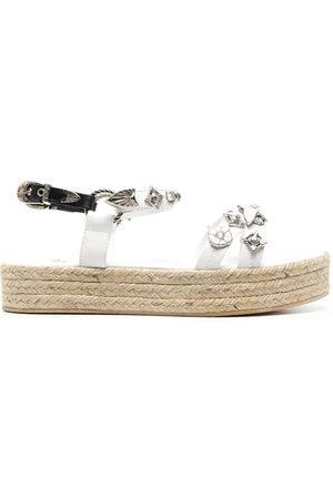 TOGA PULLA Women Espadrilles - Leather strap espadrille sandals