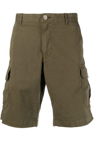 Woolrich Men Shorts - Knee-length cotton cargo shorts