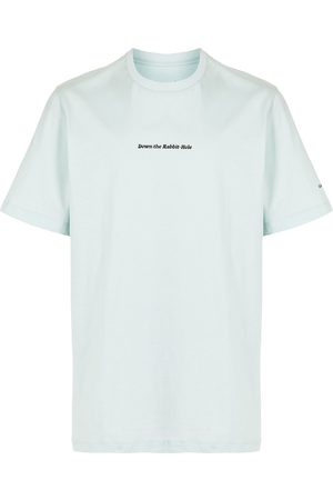 OAMC Slogan-print cotton T-shirt