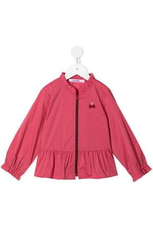Familiar Girls Bomber Jackets - Ruffle-trim jacket