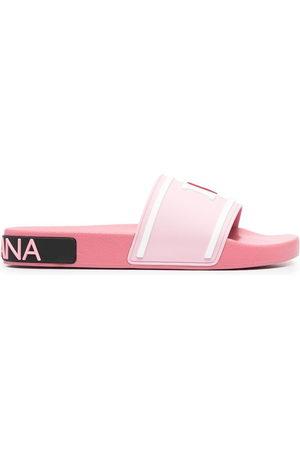 Dolce & Gabbana Women Sandals - I Love D&G logo slides