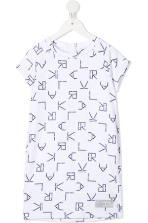 Karl Lagerfeld Digi Karl-print t-shirt dress