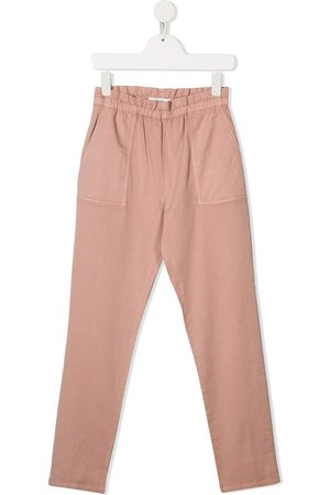 BONPOINT Girls Skinny Pants - High-rise slim-fit trousers