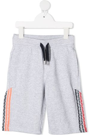 HUGO BOSS Logo print track pants - Grey