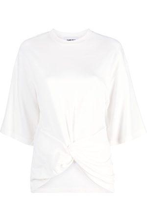 AMBUSH Women T-shirts - Crossed-hem T-shirt