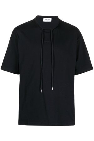 AMBUSH Men Short Sleeve - Drawstring-collar short-sleeve T-shirt
