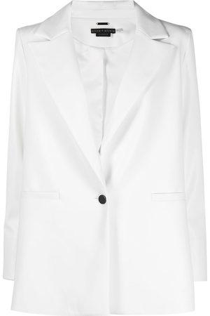 ALICE+OLIVIA Women Blazers - Peak-lapel single-breasted blazer