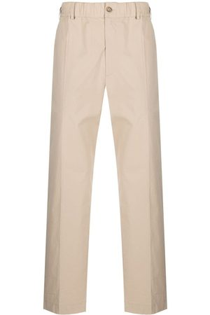 AMBUSH Pull-on straight-leg trousers - Neutrals