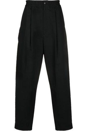AMBUSH Pleat-detail elasticated-waist trousers