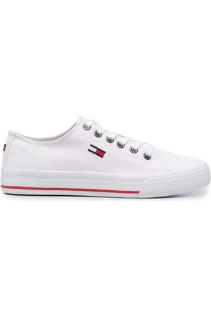 Tommy Hilfiger Embroidered-logo sneakers