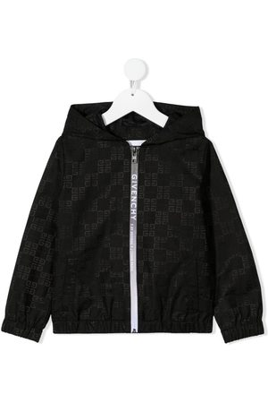 Givenchy Bomber Jackets - Logo-print hooded jacket