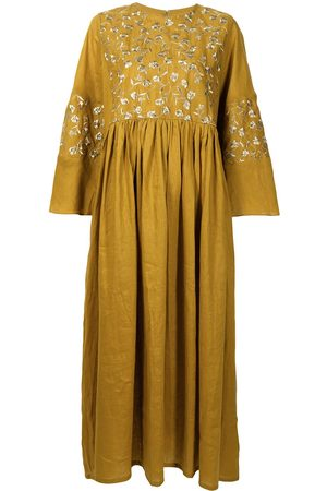 Bambah Lilly floral embroidered kaftan