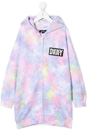 DKNY Tie-dye print hoodie