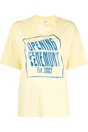 Opening Ceremony Warped logo regular T-shirt