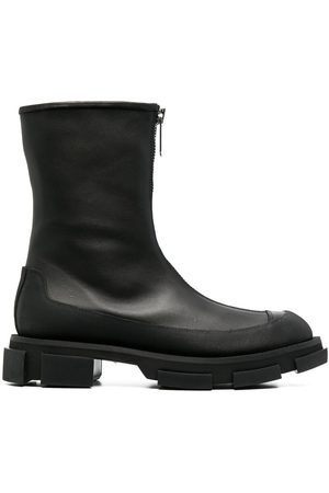BOTH Zipped-up boots